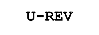 mark for U-REV, trademark #76650878