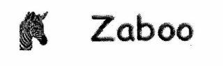 mark for ZABOO, trademark #76651116