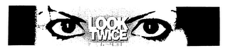 mark for LOOK TWICE, trademark #76651773