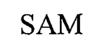 mark for SAM, trademark #76651939