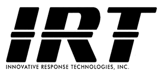 mark for IRT INNOVATIVE RESPONSE TECHNOLOGIES, INC., trademark #76654407