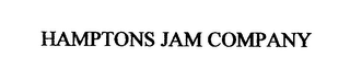 mark for HAMPTONS JAM COMPANY, trademark #76655146