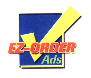 mark for EZ-ORDER ADS, trademark #76655390
