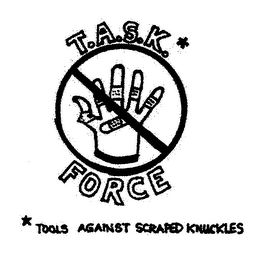 mark for T.A.S.K. FORCE TOOLS AGAINST SCRAPED KNUCKLES, trademark #76655442