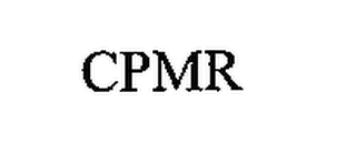 mark for CPMR, trademark #76656078
