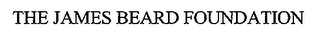 mark for THE JAMES BEARD FOUNDATION, trademark #76656355