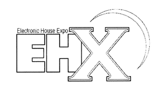 mark for EHX ELECTRONIC HOUSE EXPO, trademark #76656709