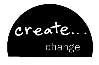 mark for CREATE... CHANGE, trademark #76656966