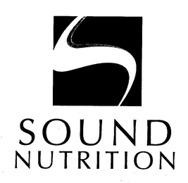 mark for S SOUND NUTRITION, trademark #76657223