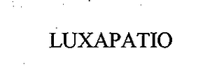 mark for LUXAPATIO, trademark #76657876