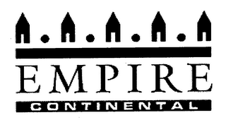 mark for EMPIRE CONTINENTAL, trademark #76658702