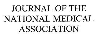 mark for JOURNAL OF THE NATIONAL MEDICAL ASSOCIATION, trademark #76658794