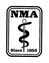 mark for NMA SINCE 1895, trademark #76658796