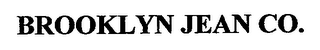 mark for BROOKLYN JEAN CO., trademark #76659015
