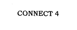 mark for CONNECT 4, trademark #76660213