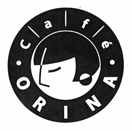 mark for · CAFÉ · ORINA, trademark #76660363