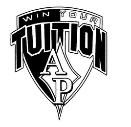 mark for WIN YOUR TUITION AP, trademark #76661553