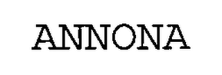 mark for ANNONA, trademark #76661924