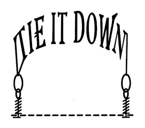 mark for TIE IT DOWN, trademark #76661936