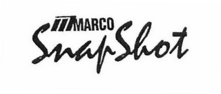 mark for M MARCO SNAPSHOT, trademark #76662123