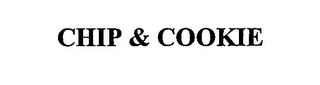 mark for CHIP & COOKIE, trademark #76662695