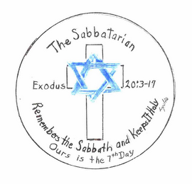 mark for THE SABBATARIAN REMEMBERS THE SABBATH AND KEEPS IT HOLY OURS IS THE 7TH DAY EXODUS 20:3-17 LYDIA, trademark #76662705