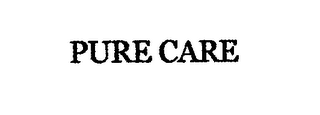 mark for PURE CARE, trademark #76662777
