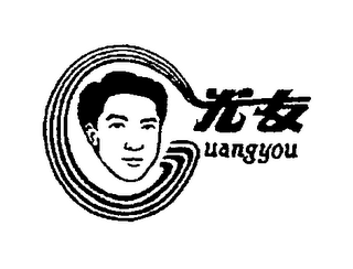 mark for GUANGYOU, trademark #76664685