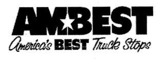 mark for AMBEST AMERICA'S BEST TRUCK STOPS, trademark #76664851