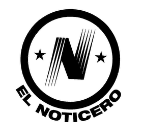 mark for N EL NOTICERO, trademark #76666336