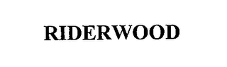 mark for RIDERWOOD, trademark #76666655