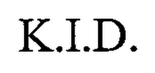 mark for K.I.D., trademark #76667926