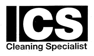 mark for ICS CLEANING SPECIALIST, trademark #76668335
