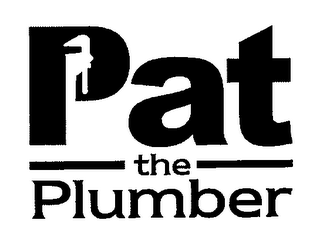 mark for PAT THE PLUMBER, trademark #76668512
