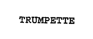 mark for TRUMPETTE, trademark #76669159