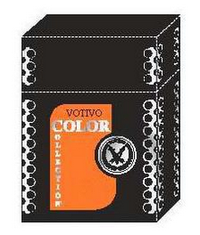 mark for VOTIVO COLOR COLLECTION FRAGRANCED CANDLE V VOTIVO, trademark #76669456
