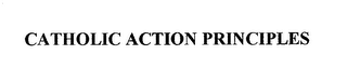 mark for CATHOLIC ACTION PRINCIPLES, trademark #76669571