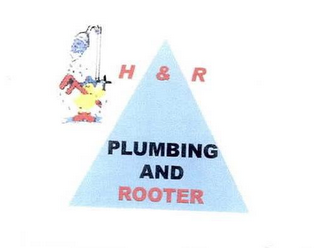mark for H & R PLUMBING AND ROOTER, trademark #76670938