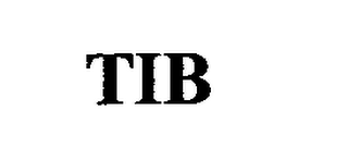 mark for TIB, trademark #76671189
