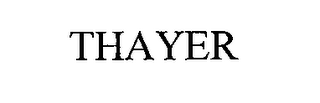 mark for THAYER, trademark #76672063