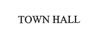 mark for TOWN HALL, trademark #76673276