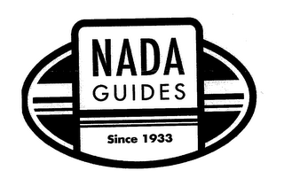 mark for NADA GUIDES SINCE 1933, trademark #76673385