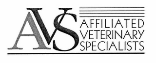 mark for AVS AFFILIATED VETERINARY SPECIALISTS, trademark #76676162