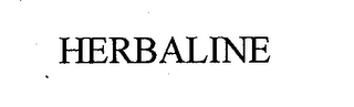 mark for HERBALINE, trademark #76676284