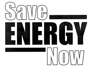 mark for SAVE ENERGY NOW, trademark #76676876