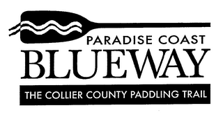 mark for PARADISE COAST BLUEWAY THE COLLIER COUNTY PADDLING TRAIL, trademark #76677041