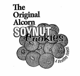 mark for THE ORIGINAL ALCORN SOYNUT COOKIES A HEALTHY SNACK!, trademark #76677864
