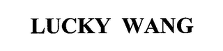 mark for LUCKY WANG, trademark #76678794