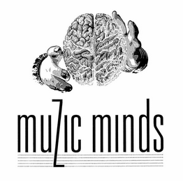 mark for MUZIC MINDS, trademark #76680756