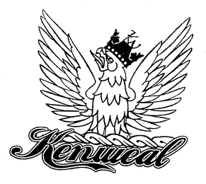 mark for KENWEAL KW, trademark #76681723
